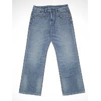 Mens button fly jean